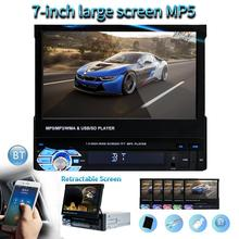 Car GPS Navigation Radio Stereo Universal 7 inch slip down Touch 1DIN only FM Bluetooth MP3 MP4 Mp5 Audio Music Player 9601G new arrival 7020g car bluetooth audio stereo mp5 player with rearview camera 7 inch touch screen gps navigation fm function hot
