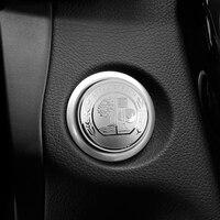 1-50 шт. эмблема Apple Tree автомобильный двигатель с одной кнопкой для Mercedes Benz AMG A B класс cla CLK gla GLC GLE GT GL350 GL450