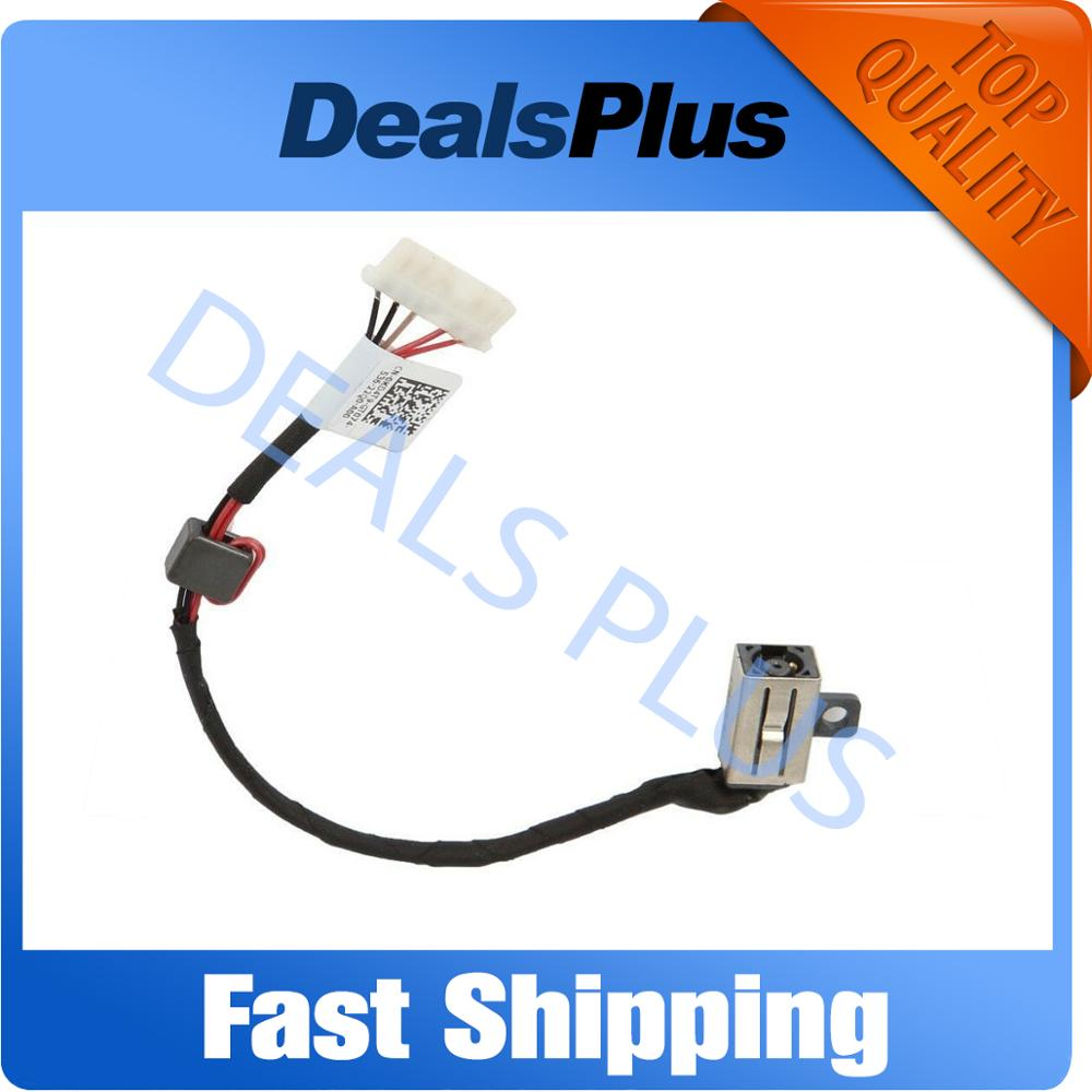 New DC Power Jack With Cable Socket For DELL Inspirion 15-5000 5555 5558 5559 14-5458 5459 5455 5452 P51F P64G DC30100UD00