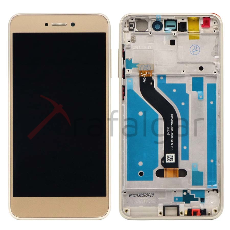 Image 2 - Display For Huawei P9 Lite 2017 LCD Display Touch Screen Digitizer with Frame For Huawei P8 Lite 2017 LCD Screen PRA LA1 LX1Mobile Phone LCD Screens   -