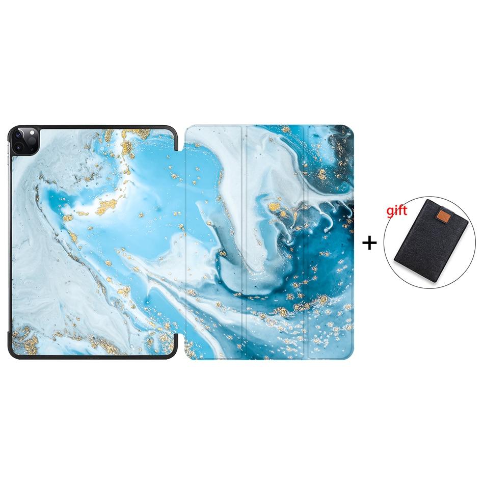 IP13 Orange MTT 2020 Tablet Case For iPad Pro 11 2nd Generation PU Leather Flip Stand Smart funda