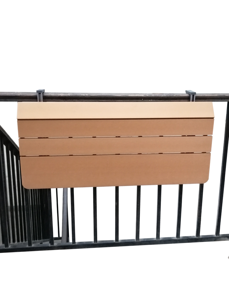 Balcony Railing Hanging Table Folding Convenient  Computer  Home Bar Counter Creative Lifting Folding Desk