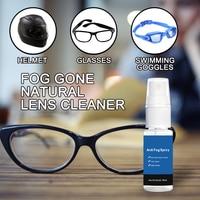 Car Window Helmet Lens Glasses Glass Long Lasting Defogger Curing Agent Cleaning Agent Car Wash 20ml Anti-Fog Spray 5