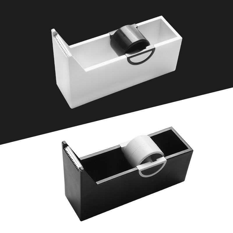 Eyelashes Extension Tape Cutter Dispenser Adhesive Tape Holder Grafting Eyelash Plastic Rotating Tape Cutting Makeup Tools