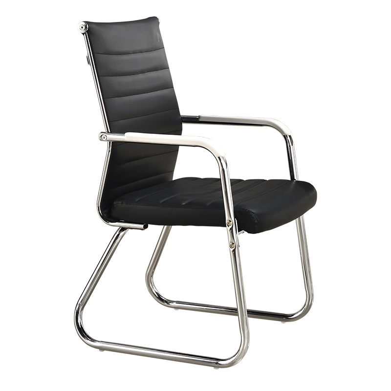 M8 Computer Chair Home Office Chair Conference Mahjong Chair Leather Staff  Chess Room Student Chair Modern Minimalist