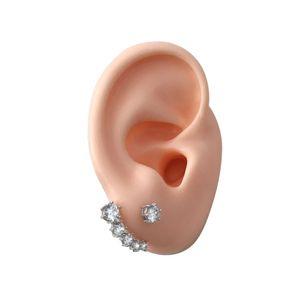 Image 3 - 1 זוג צבעוני דגם הדגמה אוזן עבור מכשירי שמיעה אוזן תצוגת חינוך דגם