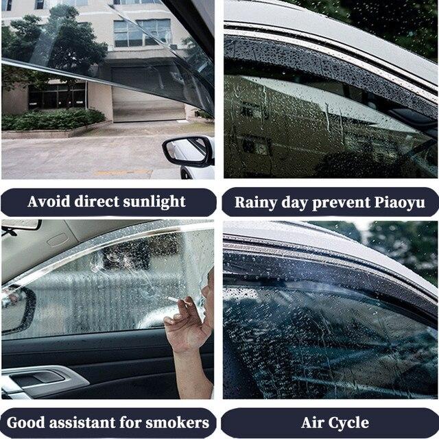погода щит для toyota highlander 2015 2020 окна автомобиля дефлекторы фотография