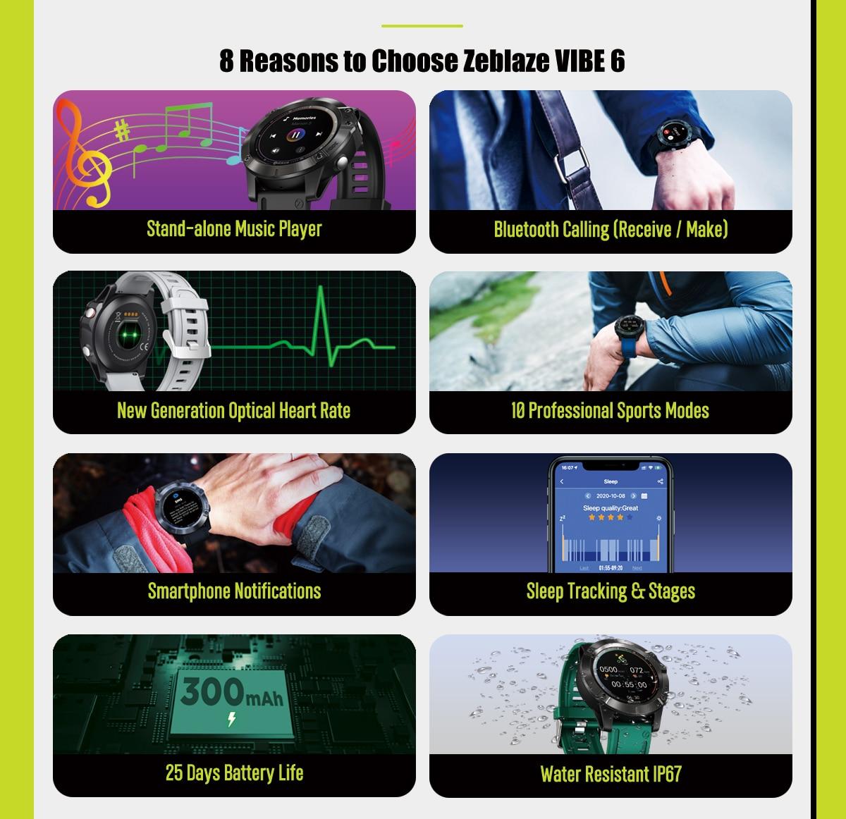 Zeblaze Vibe 6 smartwatch 5