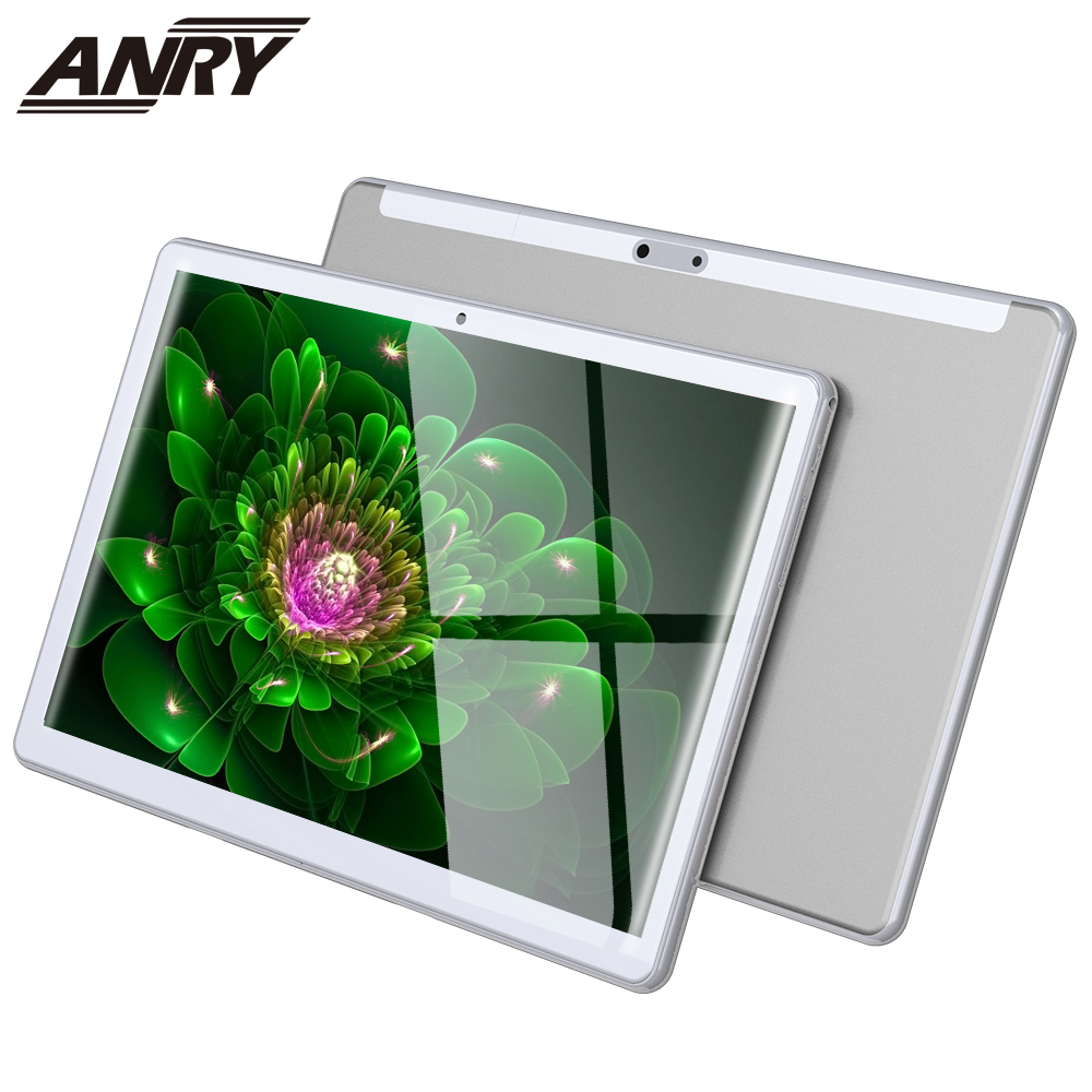 ANRY Tablet 10.1 Inch Dual SIM Card Phablet Android 8.1 4G Phone Call 2 GB RAM 32GB ROM Wifi GPS Bluetooth Touch Tablet