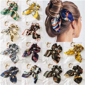 AOMU-2019-Chiffon-Bowknot-Silk-Hair-Scrunchies-Women-Pearl-Ponytail-Holder-Hair-Tie-Hair-Rope-Rubber
