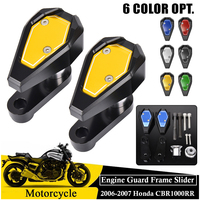For Honda CBR1000RR Frame Sliders Fairing Guard Crash Pad Engine Cover Protector 2006 2007 CBR 1000RR Motorcycle Accessories