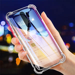 Phone-Case Xiaomi Redmi Back-Cover Transparent Note 8 Silicone for 7-6/Pro/8/.. K20-Pro