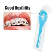 Toothpick-Tool Orthodontic-Braces-Bridge Dental Floss-Holders Oral-Care Between 1-Packs