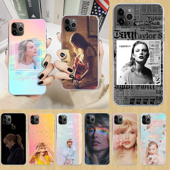 Singer Swift-Taylor Phone Case cover For iphone 5 5S 6 6S PLUS 7 8 12 mini X XR XS 11 PRO SE 2020 MAX transparent waterproof