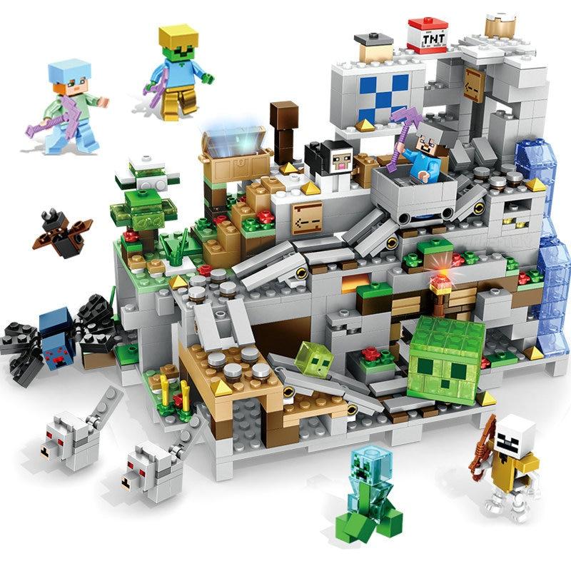 minecraft lego block toys