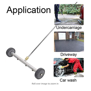 Image 5 - Hochdruck Washer Auto Waschen Chassis Washer 16 zoll Wasser Besen Mit 45 Grad Winkel Bar 4000 PSI
