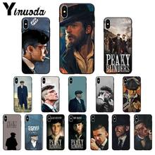 Yinuoda Peaky Blinders Thomas Shelby TPU Soft Case สำหรับ iPhone ของ Apple iPhone 8 7 6 6S PLUS X XS MAX 5 5S SE XR 11 11pro MAX COVER(China)