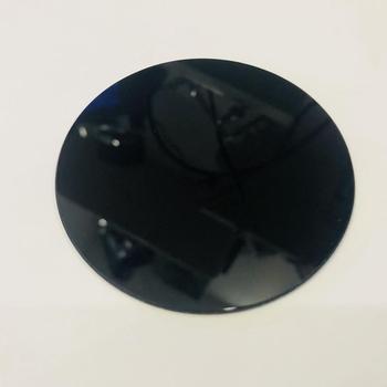 Dimensioni del diametro di 140 millimetri e 3 millimetri di spessore 254nm ZWB1 uv pass filtro di vetro