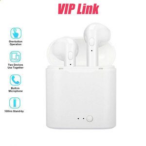 VIP Air poding TWS i7s TWS Bluetooth Headsets Wireless earphone With Mic Headset in ear handsfree earbuds for w26 x7 iwo 12