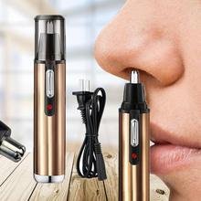 Rechargeable Electric Shaving Nose Hair Trimmer Safe Face Care