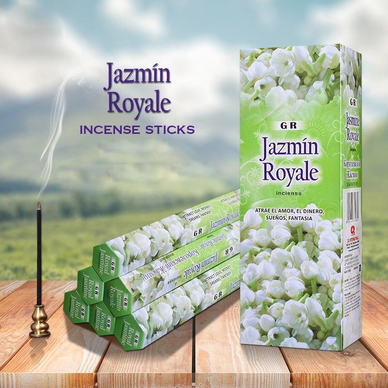 For Yoga Yoga Studio Indian Incense Sticks Royal Lavender Jasmine Sticks Incense Living Room Scents For Home Buddhist Bulk Sale