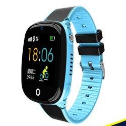 Children's phone watch, GPS positioning, watch card insertion, photo taking, children's smart watch factory