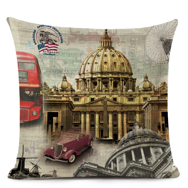 England Stylish Pillow Covers  3