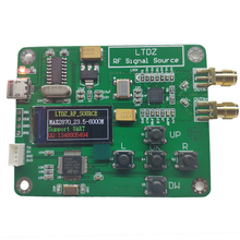 LTDZ MAX2870 0.96 inch OLED  STM32 23.5 6000MHz Signal Source Module USB 5V Powered Frequency and Modes Accessory