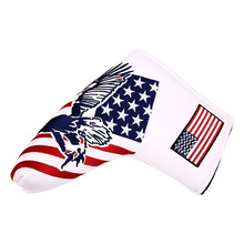 Head-Cover Putter Golf-Blade Magnetic And with Usa-Flag Eagle