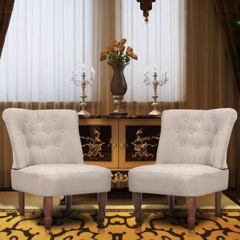 2X francuski fotel francuski fotel hawajski fotel do masażu francuski tkanina na poduszkę fotel tanie i dobre opinie CN (pochodzenie) meble do salonu Krzesło do salonu meble do domu