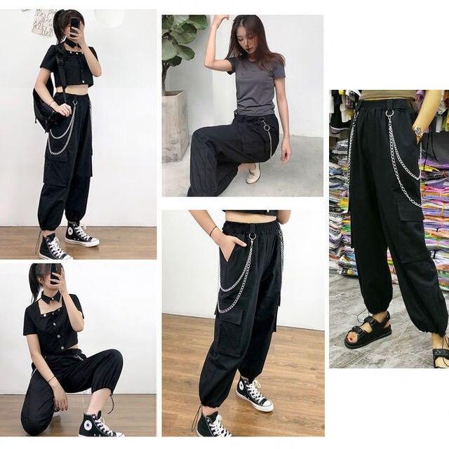 Фото женские летние свободные брюки с завышенной талией