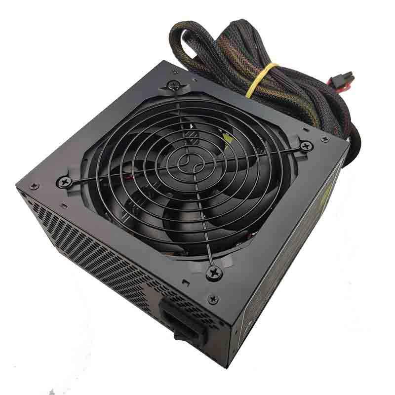 Real 600W Power Supply untuk PC 600W ATX PSU Power Supply PSU PFC Silent Fan ATX 24pin 12V PC Komputer SATA Game PC PSU