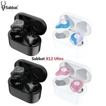 Newest Sabbat X12 Ultra TWS Wireless Bluetooth 5.0 Earphone Mini Waterproof Sports Stereo in ear wireless headset earbuds