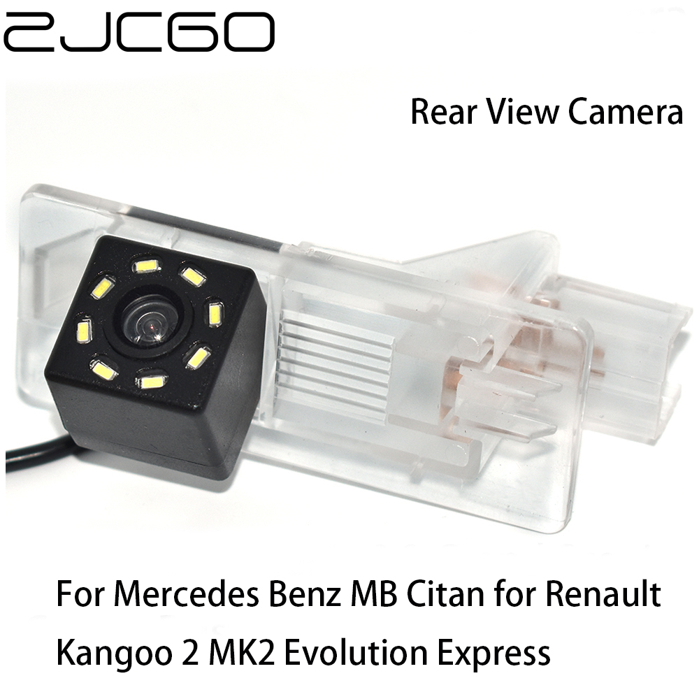 ZJCGO HD CCD Car Rear View Reverse Back Up Parking Camera For Mercedes Benz MB Citan For Renault Kangoo 2 MK2 Evolution Express