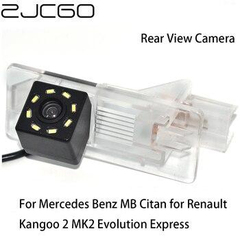 ZJCGO HD CCD Car Rear View Reverse Back Up Parking Camera for Mercedes Benz MB Citan for Renault Kangoo 2 MK2 Evolution Express for mercedes benz clk class w209 a209 c209 2002 2009 hd ccd car rear view reverse camera sets rca