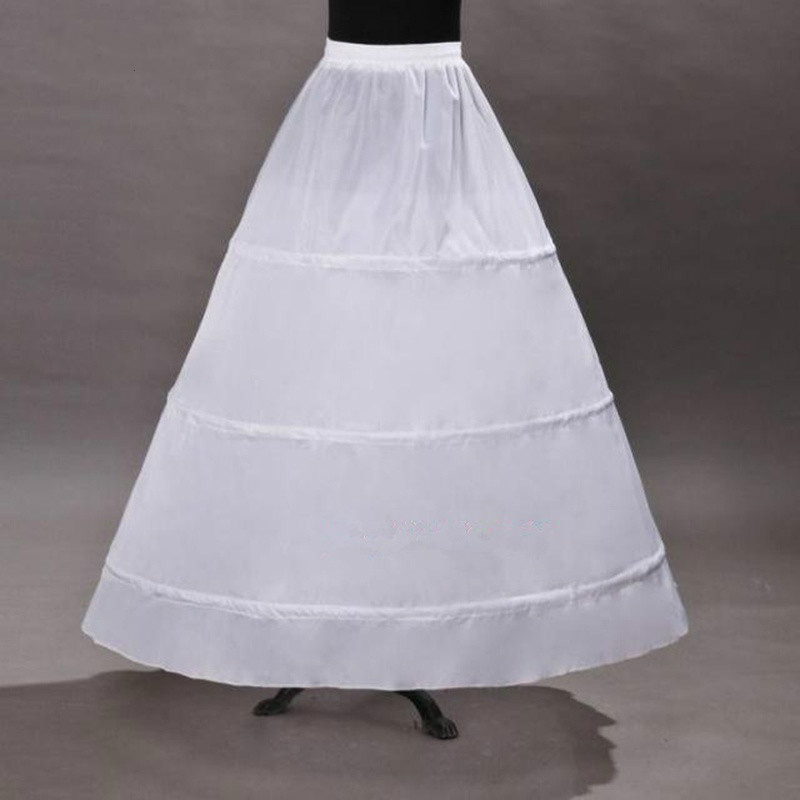 Wedding Petticoat Vintage With 3 Hoops Ball Gown Petticoat For Vintage Bustle Aupport Akirt Hoop Skirt