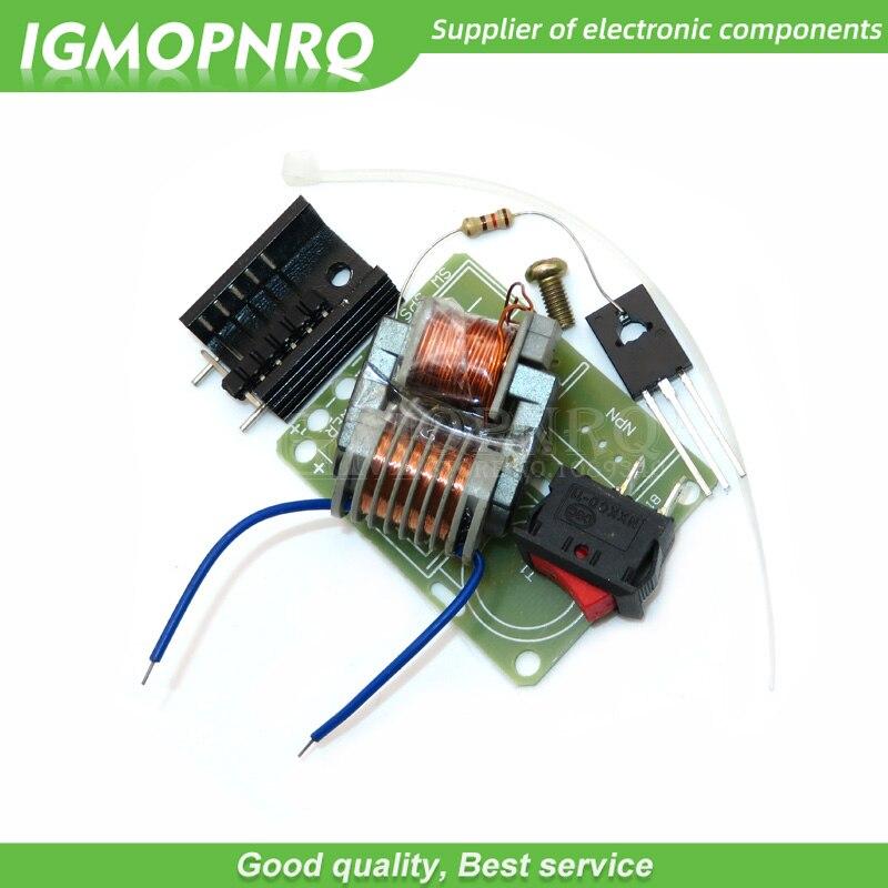 Комплект «сделай сам» 15 кВ высокочастотный генератор дугового зажигания постоянного тока высокого напряжения инвертор с повышением до 18650 ...