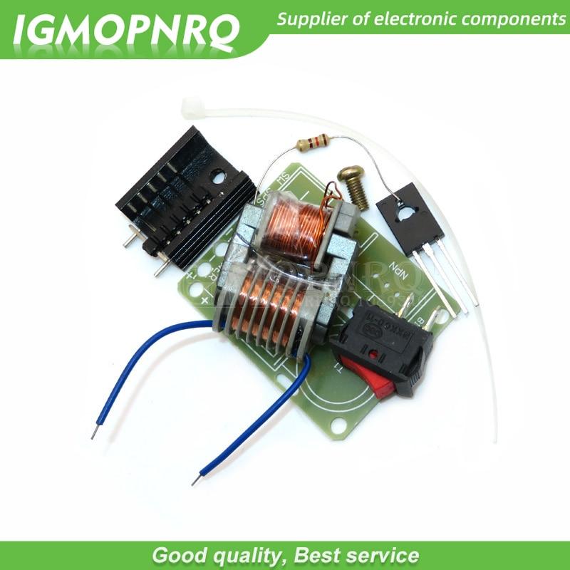 Diy kit 15KV Hohe Frequenz DC Hohe Spannung Arc Zündung Generator Inverter Boost Schritt Bis 18650 DIY Kit U Core transformator Suite