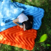 Ultralight Portable Moisture Proof Outdoor Inflatable Cushion Sleeping Mattress Camping Hiking Travel Mat Pad