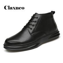 Мужские ботинки из натуральной кожи 2020 Мужская Осенняя обувь