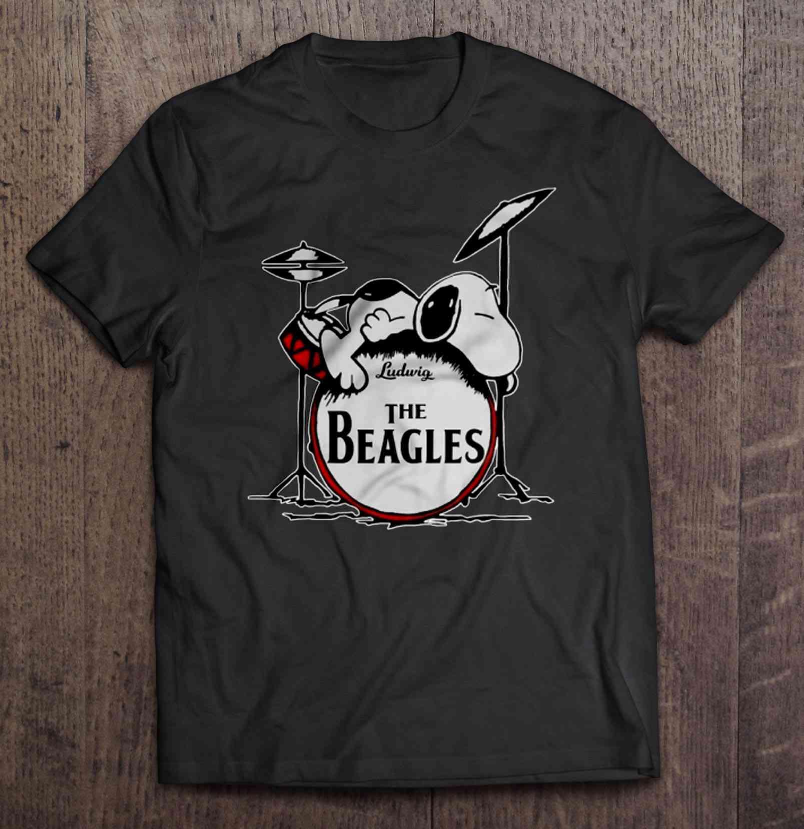 Ludwig The Beagle Snoopy Version Tshirts