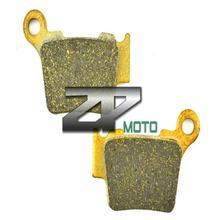 цена на Organic Kevlar Brake Pads For KTM SX-F 350 2011-2014 EXC-F 350 (Diaphragm Clutch Spring) 2012-2014 Rear OEM New High Quality