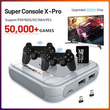 Portable Retro Game Console for PS1/PSP 50000+ Games HDMI-compatible Mini TV Video Game Console Support Wireless Controllers
