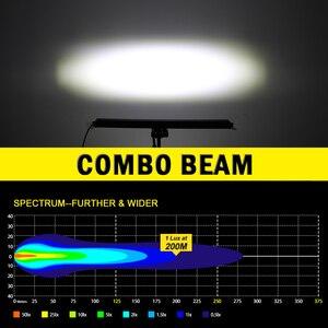 Image 2 - CO LIGHT 6D Offroad Light Bar 36W 72W 120W 180W Slim LED Work Light LED Bar for Tractor Boat Lada 4WD 4x4 Truck SUV ATV 12V 24V