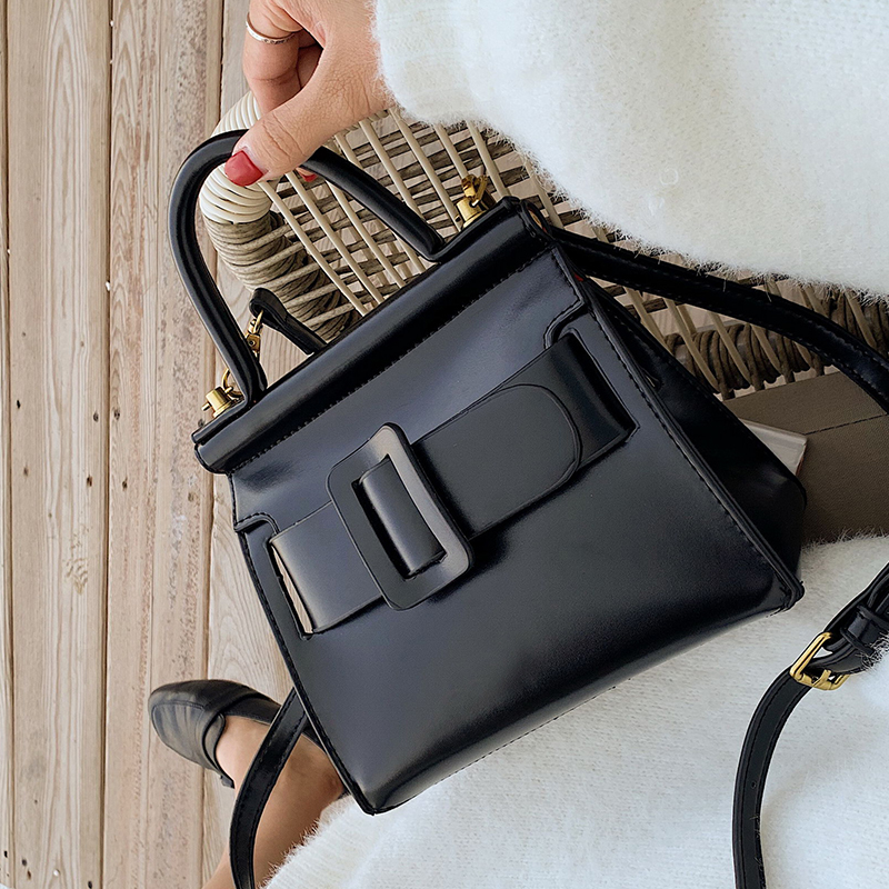 Elegant Female Casual Tote Bag 2019 New High Quality Leather Women's Designer Handbag Lock Shoulder Messenger Bag Purses Bolsas