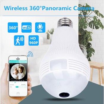 LED light bulb HD mini camera camcorder wifi IP P2P Infrared Motion Detection Surveillance camera Video Voice Recorder SQ11 Cam