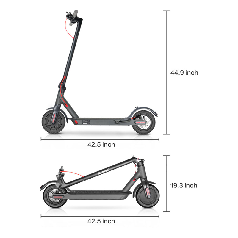 EU/US Stock ! Electric Scooter 250W Folding Kick Bike Bicycle Scooters For Adult 36V With LED Display High Speed Off Road