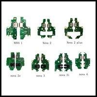 10/pcs New USB Charging Port Dock Plug Jack Connector Charge Board Flex Cable For Huawei Nova lite/2/2 Plus/2S/2i/Nova 3/3i/3e/4