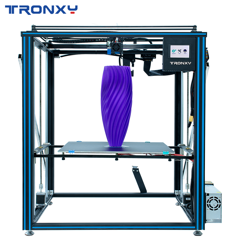 2019 Tronxy X5SA-500 PRO Guide Rail <font><b>3D</b></font> <font><b>Printer</b></font> Titan Extruder DIY Larger Size build plate 500*<font><b>500mm</b></font> Touch Screen Filament sensor image