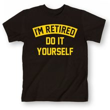 Tops 2019 Short Shirt Starnger Things Im Retired-Do It Yourself Cute T Shirts Unisex Tee Shirt Hip Hop Fitness(China)